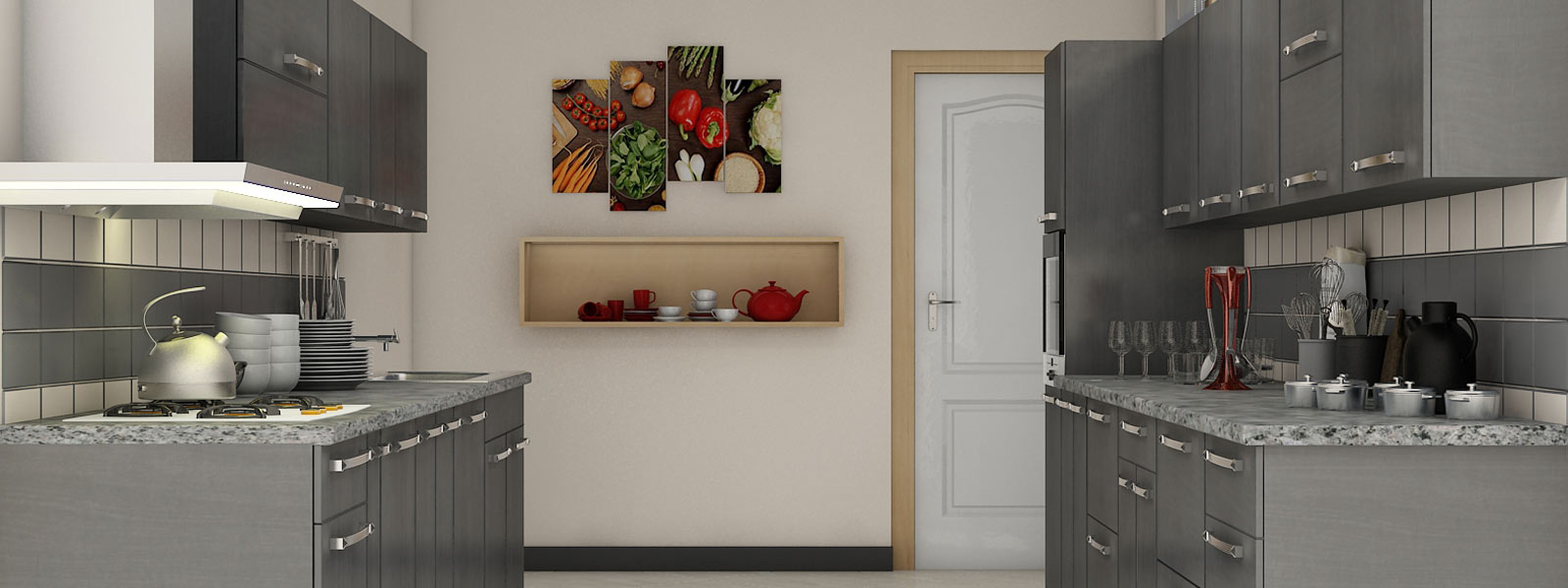 PARALLEL shape kitchen in vadapalani,Chennai