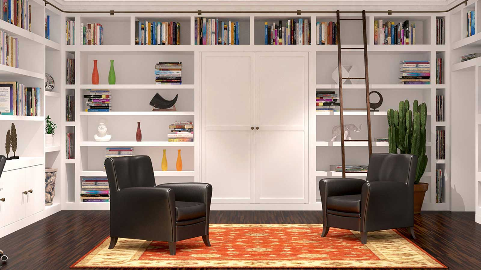 Modular Library unit in home